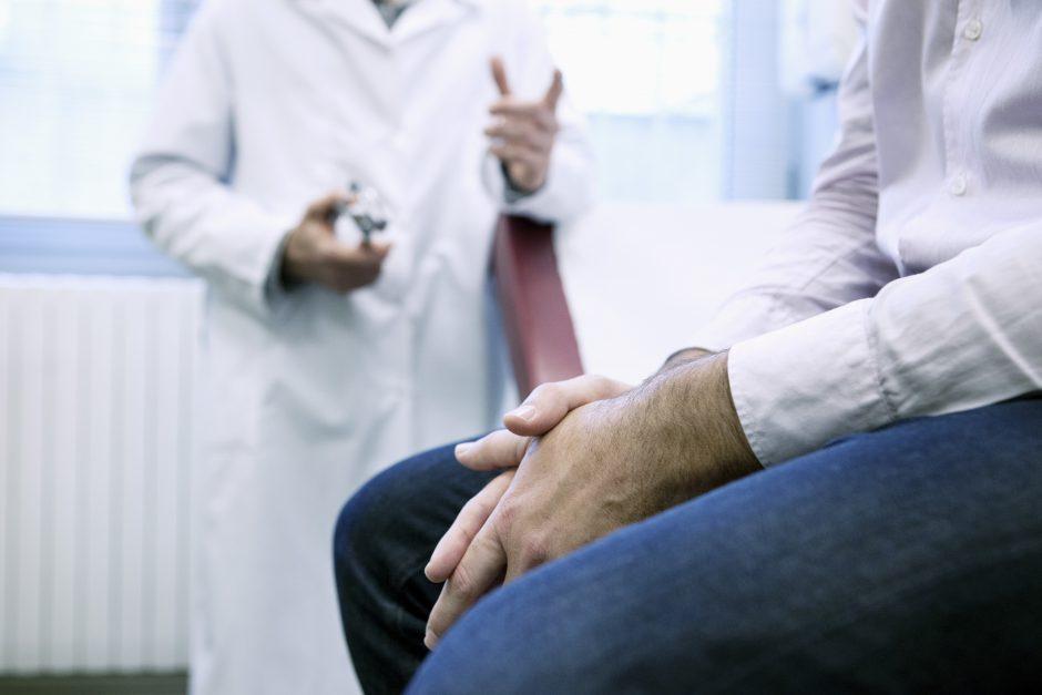 prostatos įtaka erekcijai)